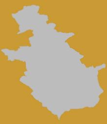 Map of North Lanarkshire