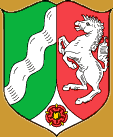 Coat of arms of North Rhine Westfalia